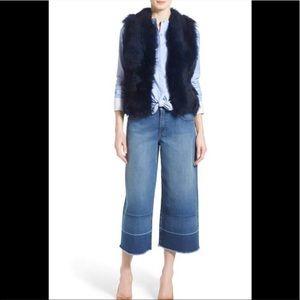 Chelsea28 Olivia Palermo high rise denim culottes